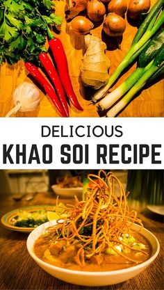One of our favourite dishes in Thailand is Khao Soi. We love making it at home too. Here's our favourite Khao Soi recipe