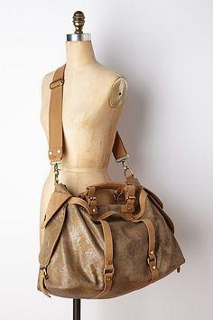 Weekender bag option - via Anthropologie