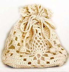 Вязаная сумка-торба крючком с узором ананас | ВЯЗАНИЕ ШАПОК: женские шапки спицами и крючком, мужские и детские шапки, вязаные сумки
