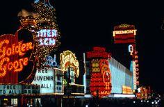 Photos of Vegas when the Mob ran Vegas: Fremont Street