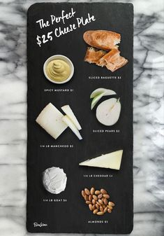 Throw Together a Gorgeous Cheese Plate for Under $25. If you're entertaining and want a cheap and easy cheese spread that looks great and tastes good, here's how you get it done.