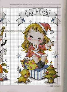 Gallery.ru / 49 - Схемы фирмы SODA - Olise-111 Baby Cross Stitch Patterns, Cross Stitch Baby, Cross Stitch Charts, Cross Stitching, Cross Stitch Embroidery, Christmas Embroidery Patterns, Cross Stitch Books, Cross Stitch Pictures, Christmas Cross