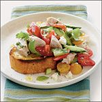 Tomato-Chicken Salad Recipe | MyRecipes.com