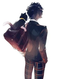 Persona Ren and Morgana 5 Anime, Anime Guys, Anime Art, Persona 5 Joker, Persona 4, Ren Amamiya, Shin Megami Tensei Persona, Akira Kurusu, Manga Boy