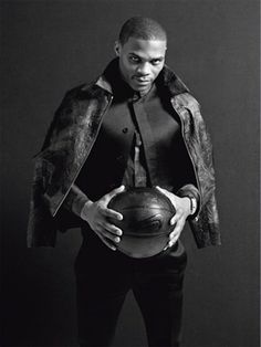 Russell Westbrook Talks Fashion In February's Vogue Italia (PHOTO)