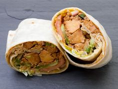 A Sandwich a Day: Shahi Paneer Wrap at Tastee Curritos. #westvillage #nyc