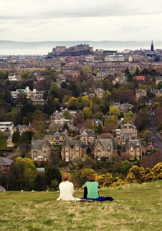 My heart will always be in Edinburgh, Scotland.