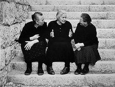 Italian Vintage Photographs ~ Nino Migliori - Hands speak - 1