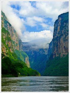 Sumidero Canyon, Chiapas, Mexico | krak, TrekEarth