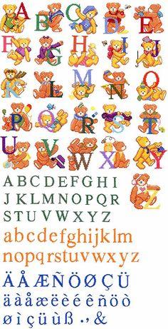 -free script cross stitch alphabet