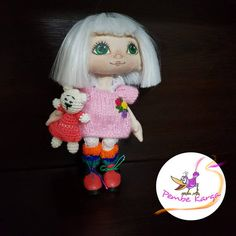 Textile doll OOAK Soft Baby toy doll Personalized rag doll