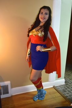 Halloween costume made tailored to the client. #wonderwoman #costume #halloween #ootn #ootd #cape #DIY #design #sewing #crafts