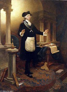 George Washington As A Master Mason