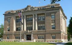 Howard County Courthouse in Nebraska.