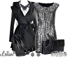 """""""Sparkling New Year's Eve outfit"""" by leilani-almazan on Polyvore"""