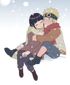 Naruto e Hinata (NaruHina) Naruhina, Naruto Uzumaki, Boruto, Hinata Hyuga, Anime Naruto, Naruto Fan Art, Naruto Cute, Kid Naruto, Naruto Comic
