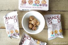 Made Good Granola Minis & Bars are free from the top 8 common food allergens, organic, and a new favorite lunchbox snack in our house.