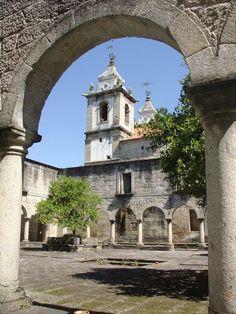 Pousada Santa María do Bouro. Amares