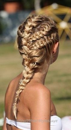 Outstanding How to do awesome Summer Braids found on Byrdie.com Brought to you from Skoother.com for DIY beautiful soft smooth feet. The post How to do awesome Summer Braids found on Byrdie.c ..