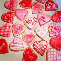 Valentine's cookies.