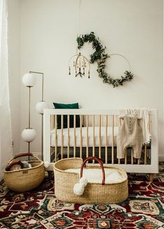 Looking to decorate your little one's nursery? Check out these adorable baby nursery inspiration and ideas that you can try at home. Baby Room Design, Nursery Design, Baby Room Decor, Nursery Room, Girl Nursery, Girl Room, White Nursery, Room Boys, Elephant Nursery