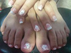 Summer Toe Nails, Pedicure Nails, Toe Nail Art, Cute Nails, Nail Art Designs, Eyeliner, Makeup, Beauty, Style