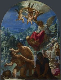 Adam Elsheimer: 'The Baptism of Christ'