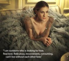 The bestest ever quote from SATC! (& I am someone that really is looking!!)