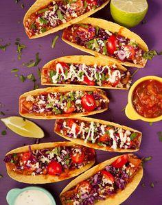Tacos de Jack - aux fruits du jaquier   - Cuisinez! - Télé-Québec Tacos Au Four, Quebec, Sauce Tomate, Fruit, Bruschetta, Meal Prep, Salsa, Cooking, Ethnic Recipes