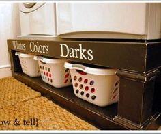 laundry room ideas...
