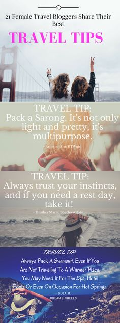Whether you're embarking on a weekend trip or world tour, this expert advice will make traveling a whole lot easier. Save time and hassle with these 20 tips! Solo Travel Tips, Travel Packing, Travel Advice, Travel Guides, Travel Things, Travel Hacks, Travel Alone, Ultimate Travel, Travel Light