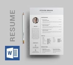 cv free resume template on behance more at designresources io