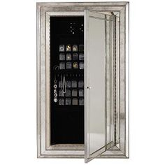 Hooker Furniture Melange Glamour Floor Mirror w/ Jewelry Armoire ...
