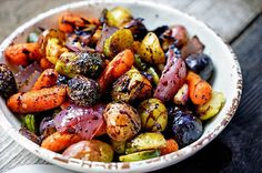 Easy Roasted Vegetables with Honey & Balsamic Syrup | www.keviniscooking.com
