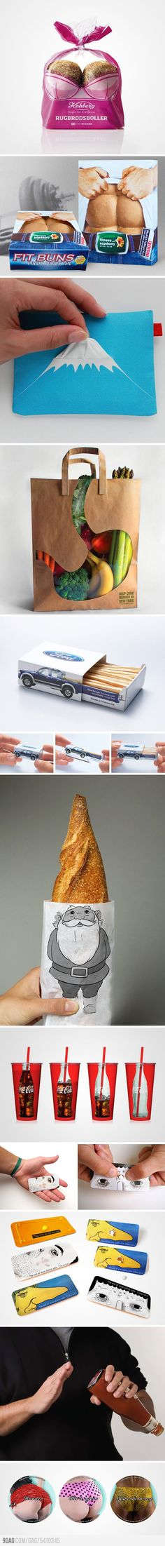 Funny packaging