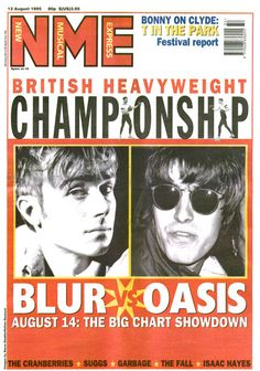 Blur vs Oasis. Rumble in the jungle? Pffft, this was the fight of the century. #schuhloveskickershi