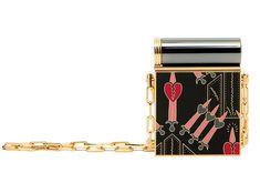 Valentino  Sac Lipstick Love Blade en métal