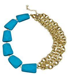Half and Half Necklace