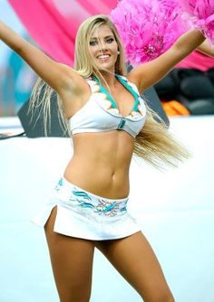 Finding the dolphins cheerleader pussy masturbation