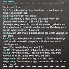 Hekel Idees: Gratis Patroon: Vingerlose Handskoene. Crochet Shrug Pattern, Crochet Patterns, Afrikaans, Cider Vinegar Weightloss, Knitted Slippers, Crochet Projects, Creative Ideas, Gloves, Diy Creative Ideas