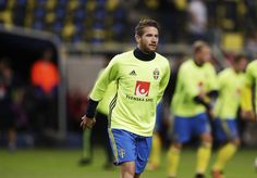 Marcus Rohdn of Sweden during the FIFA World Cup Qualifier between Sweden and Netherlands at Friends arena on September 6, 2016 in Solna, Sweden.