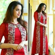 Pl WhatsApp on 7228831313 Stylish Gown, Stylish Dress Designs, Dress Neck Designs, Designs For Dresses, Stylish Dresses, Fashion Dresses, Churidhar Neck Designs, Fashion Hair, Salwar Designs