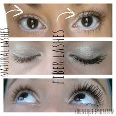 Natural lashes vs Moodstruck 3D Fiber Lashes - which would you choose? OBSESSED with this stuff! Browse our best seller along with all of our other amazing products here: www.youniqueproducts.com/krystnmacay