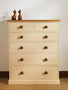 painted oak chest - Google Search