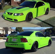 tag–> via / owner / one of my favorite custom color Cobras 2000 Ford Mustang, Ford Mustang Shelby Cobra, New Edge Mustang, Car Paint Colors, Nissan Z Cars, Oldsmobile 88, High Performance Cars, Ford Classic Cars, Futuristic Cars