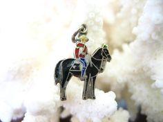 Vintage Sterling Silver Enamel Royal Canadian by charmingellie, $10.00
