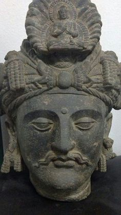 the head of bodhisattva from pakistan tagbaie
