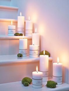 Pure Pillar Candles