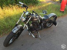 Bobber hoolister 125cc