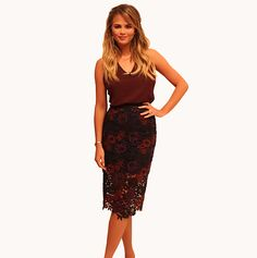 Look of the Day! | FABLife  Top: JBrand  Skirt: Topshop